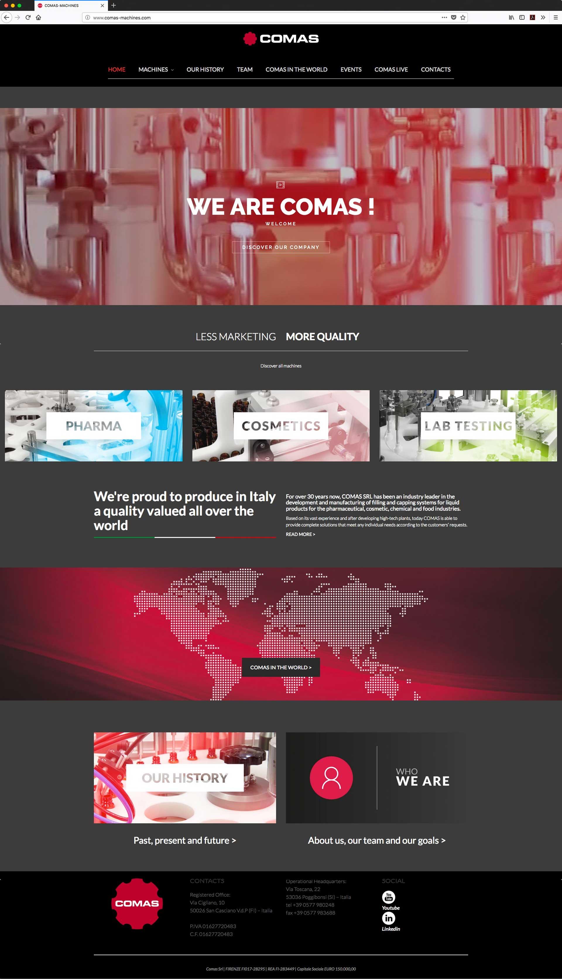 comas-web